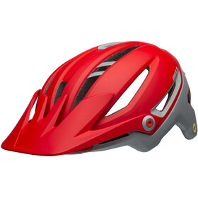 Bell Sixer MIPS Bike Helmet grey/red